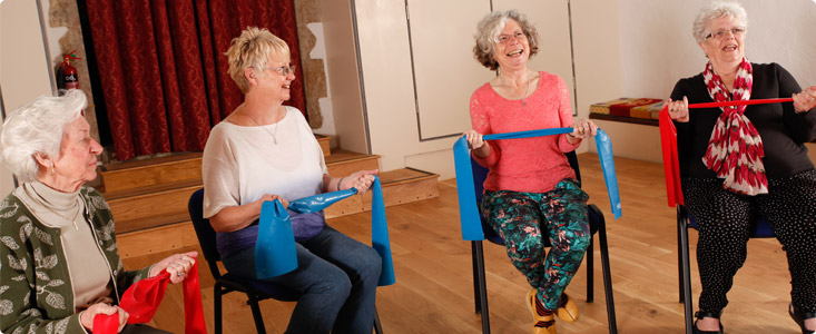 become chair-based exercise instructor